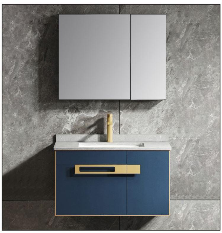 铝整板浴室柜